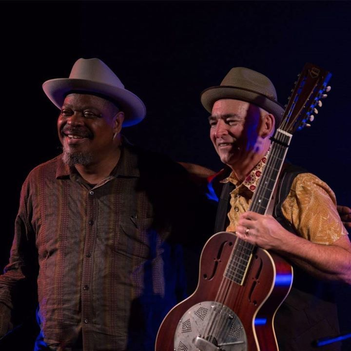 Phil Wiggins & Dom Turner  @ Port Fairy Folk festival 2017 - Port Fairy, Australia