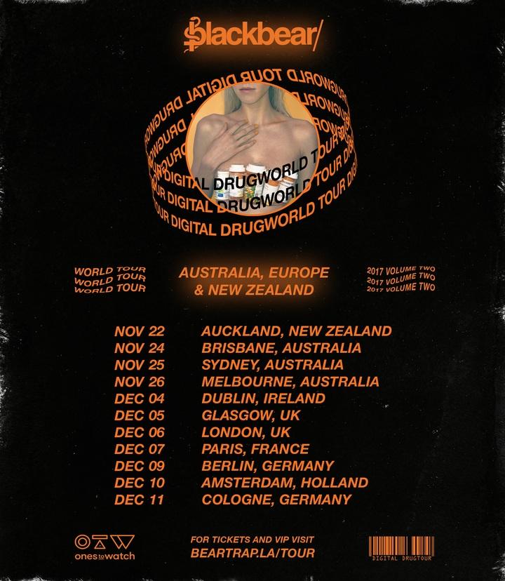 Blackbear @ Manning Bar - Camperdown, Australia