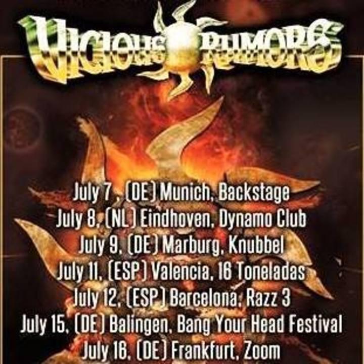 Vicious Rumors Tour Dates