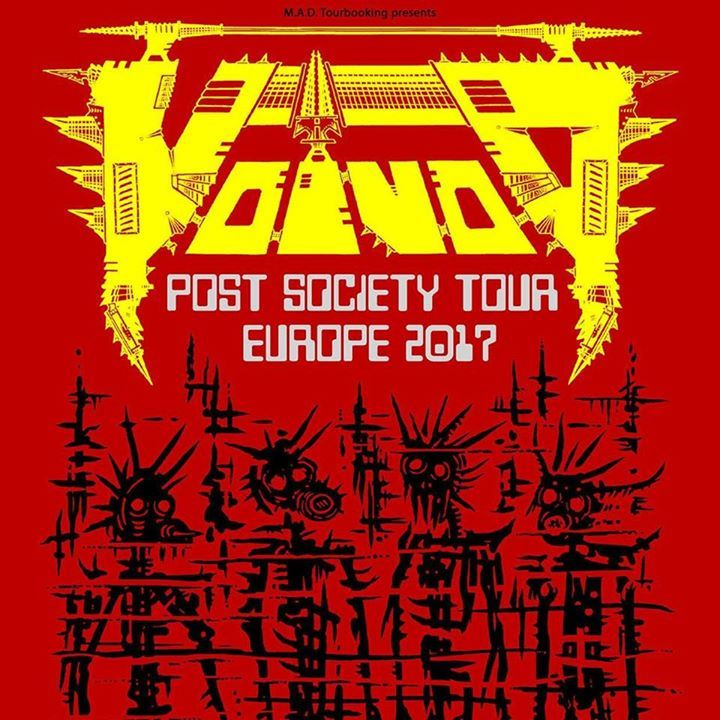 Voivod Tour Dates