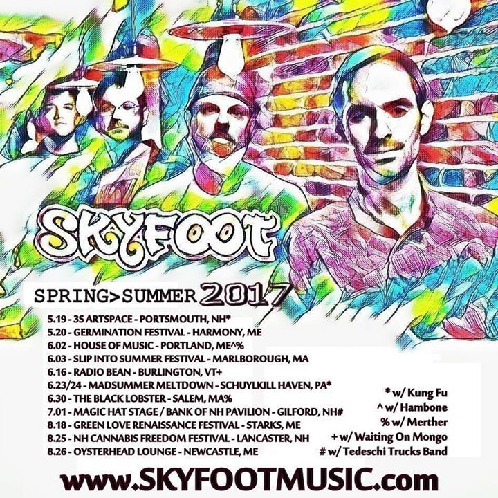Skyfoot @ The Rack BBQ - Carrabassett Valley, ME