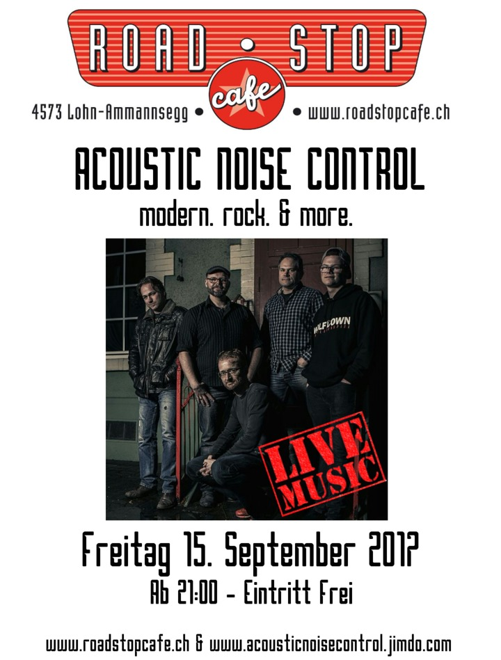 Acoustic Noise Control @ Acoustic Noise Control - Live at Road Stop Cafe - Lohn-Ammannsegg, Switzerland