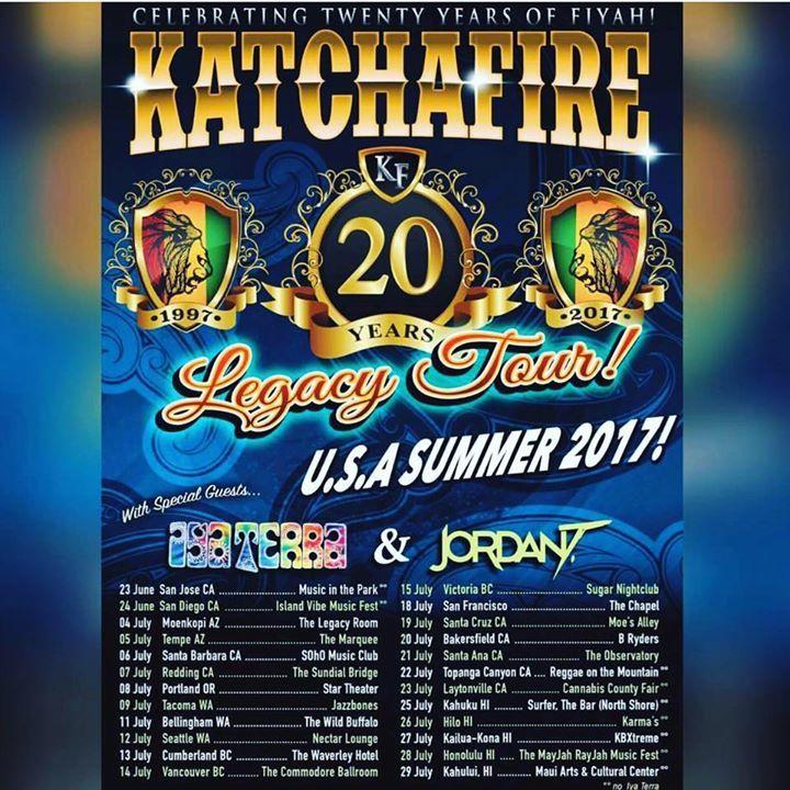 Iya Terra Tour Dates