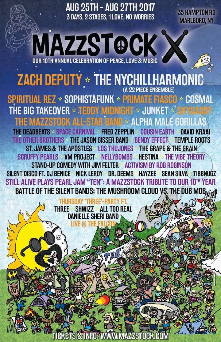 The Big Takeover @ Mazzstock Festival - Marlboro, NY
