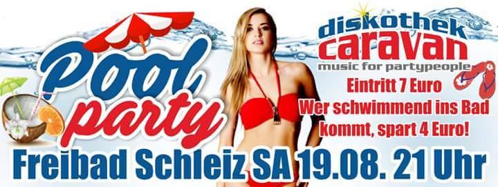 Diskothek Caravan aka DJ Stephano @ Freibad/Poolparty - Schleiz, Germany