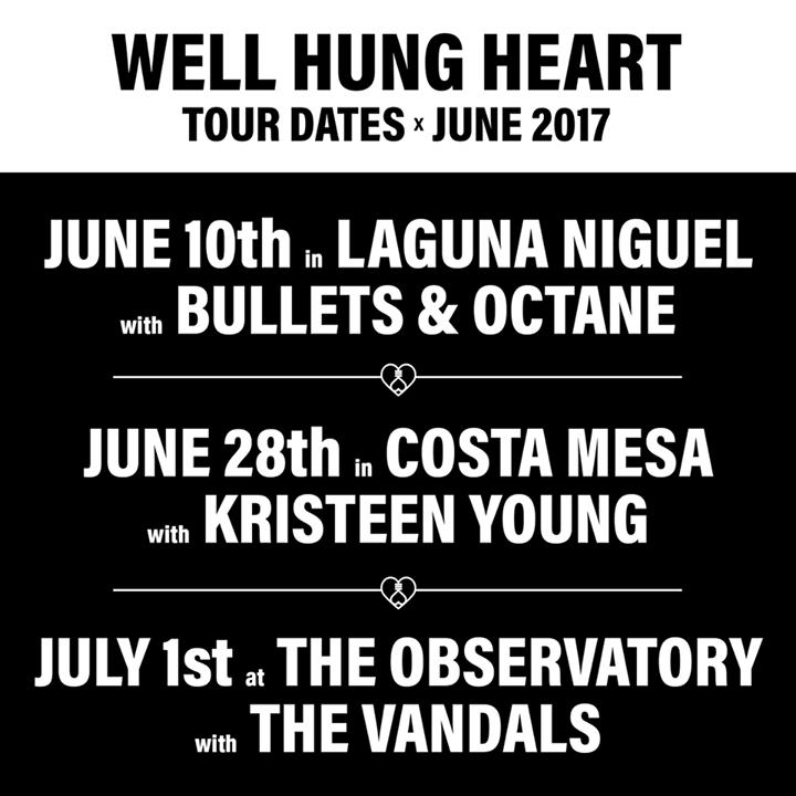 Well Hung Heart Tour Dates