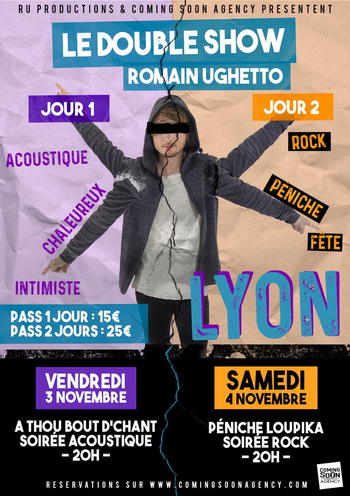 Romain Ughetto Officiel @ Péniche Loupika - Lyon, France