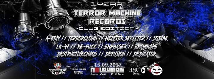 Emphaser @ 1 Year Terror Machine Records  - Bonn, Germany