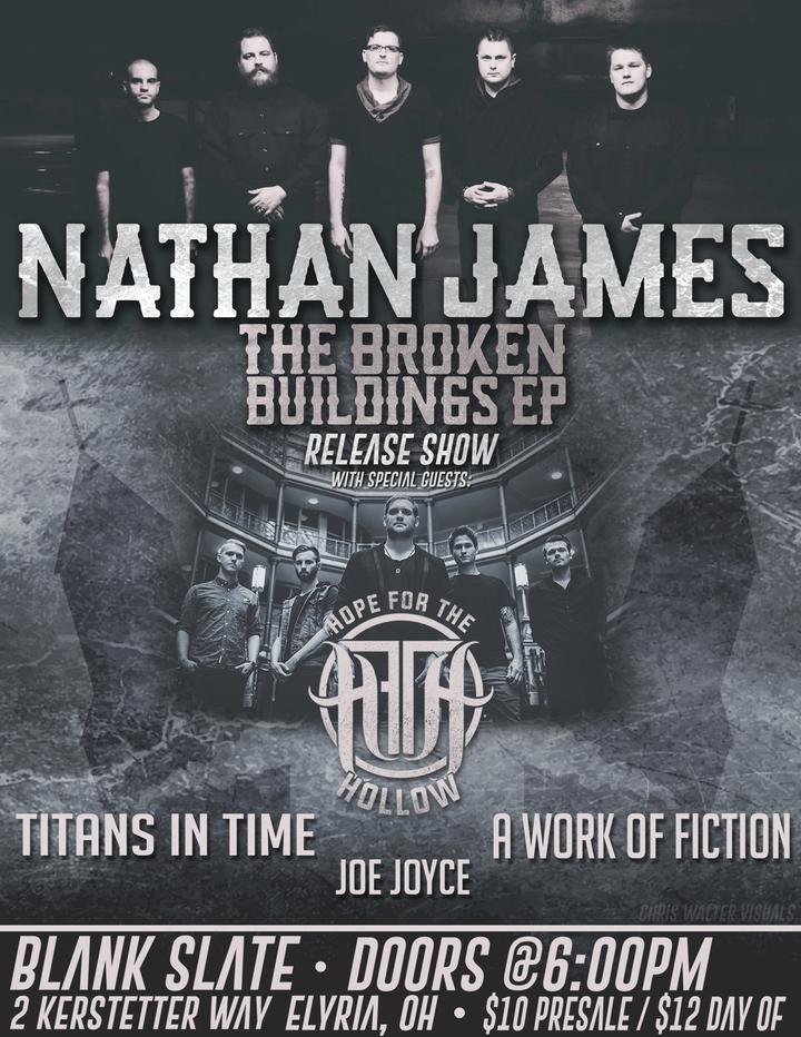 Nathan James Rock @ BLANK SLATE - Elyria, OH