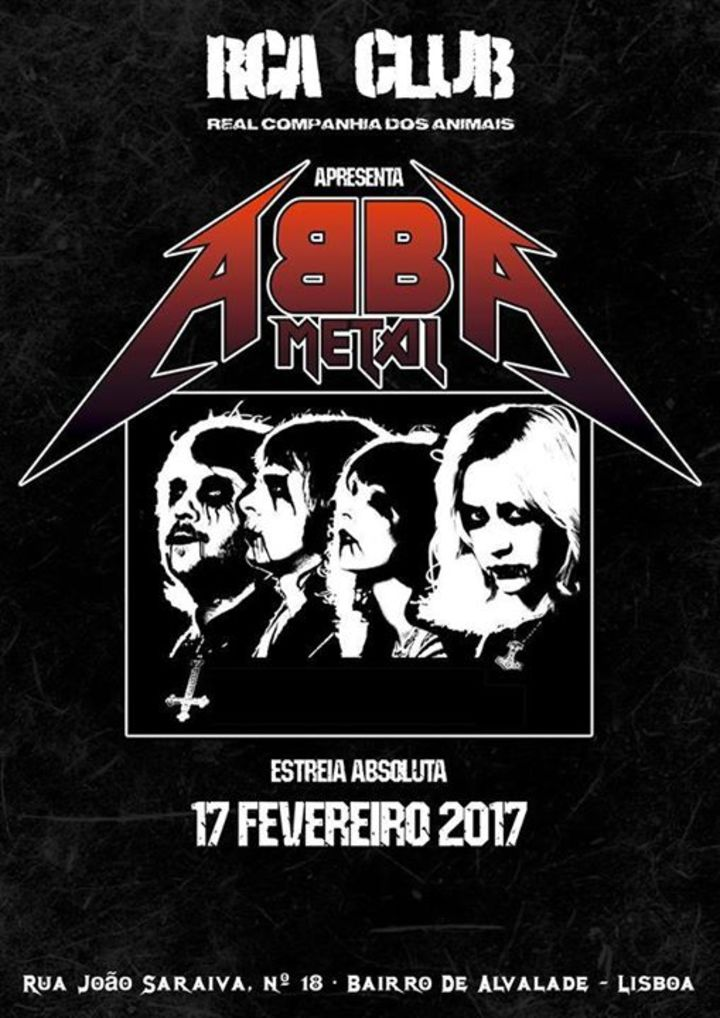 ABBA METAL Tour Dates