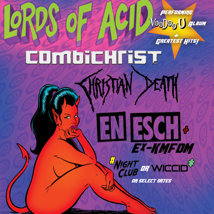 Lords of Acid @ Diamond Ballroom - Oklahoma City, OK