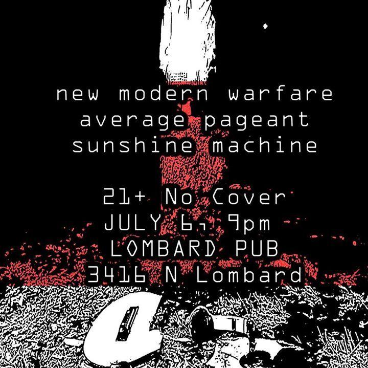 New Modern Warfare Tour Dates