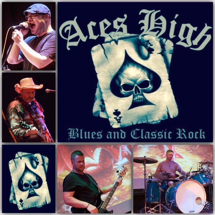 Aces High (Blues Rock) @ The White Hart, High Street  - Stoke-On-Trent, United Kingdom