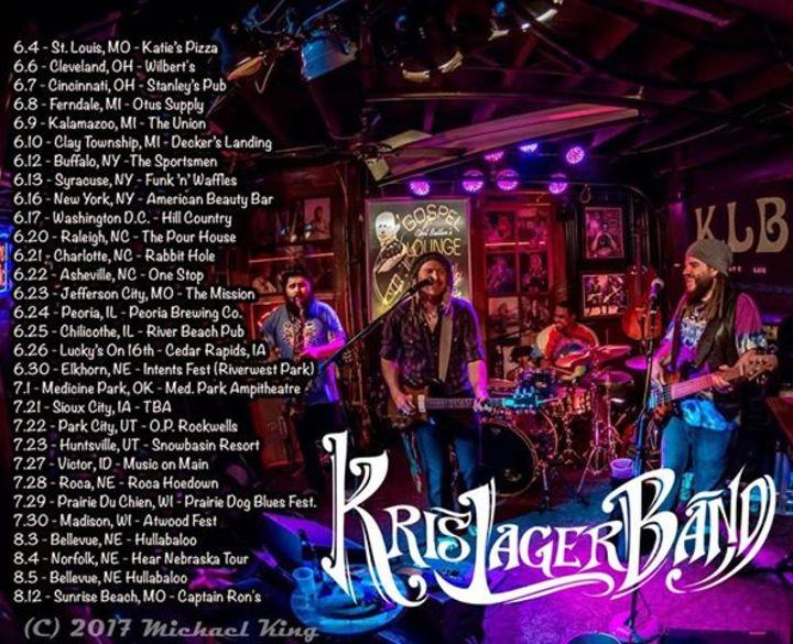 Kris Lager Band @ Blackbird On Pearl - Tulsa, OK