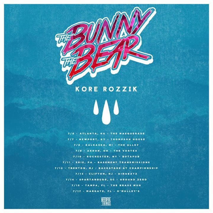 The Bunny The Bear Tour Dates