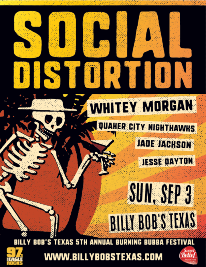 Social Distortion @ Billy Bob's - Fort Worth, TX