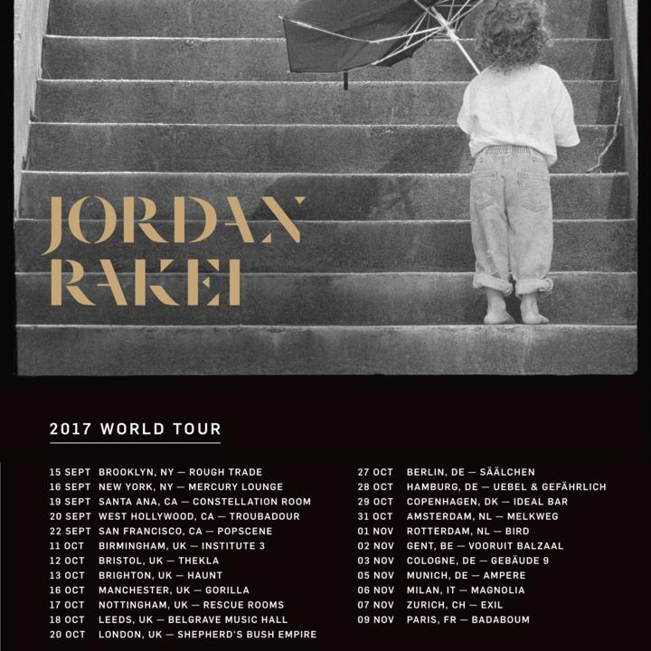 Jordan Rakei Tour Dates