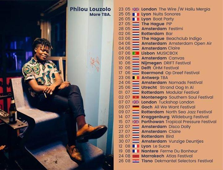 Philou Louzolo Tour Dates