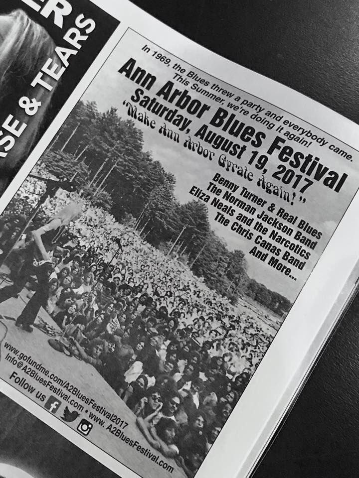 Eliza Neals @ Ann Arbor Blues Festival 2017 - Ann Arbor, MI