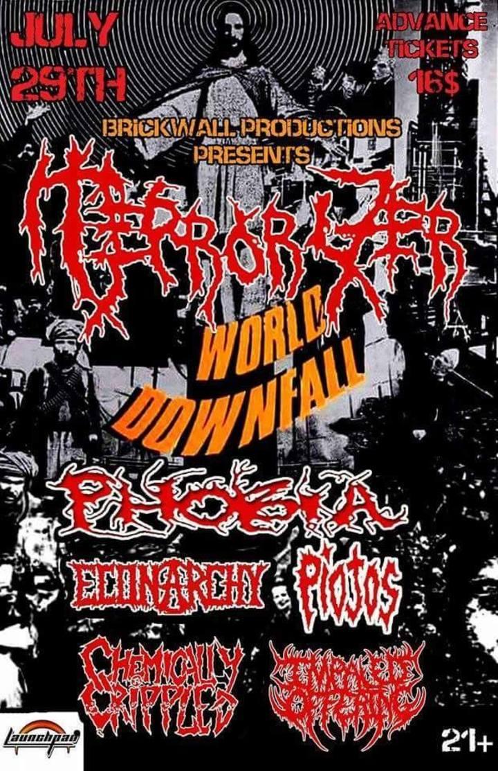 Terrorizer LA Tour Dates