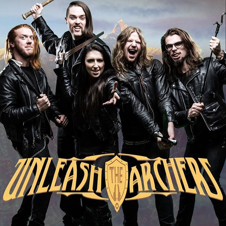 Unleash the Archers @ Dagda Club - Borgo Priolo, Italy