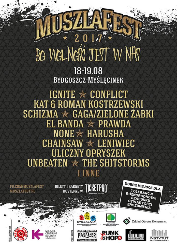 Ignite @ Muszla Festival - Bydgoszcz, Poland