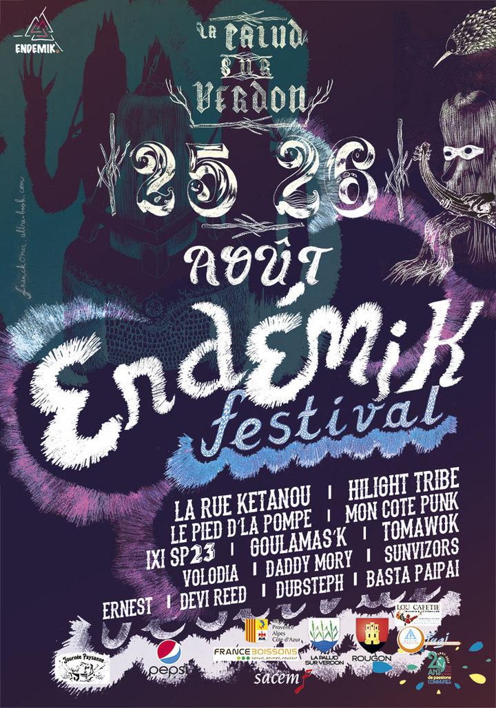 The Sunvizors @ Endemik Festival (04) - La Palud-Sur-Verdon, France