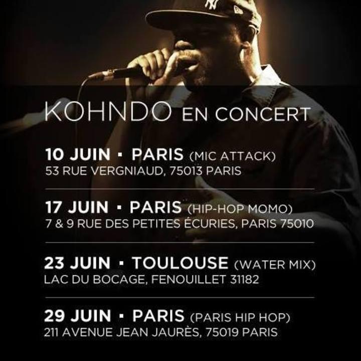 Kohndo @ Le Rocher de Palmer - Cenon, France