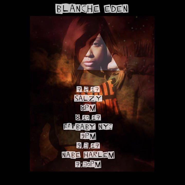 Blanche Eden Tour Dates