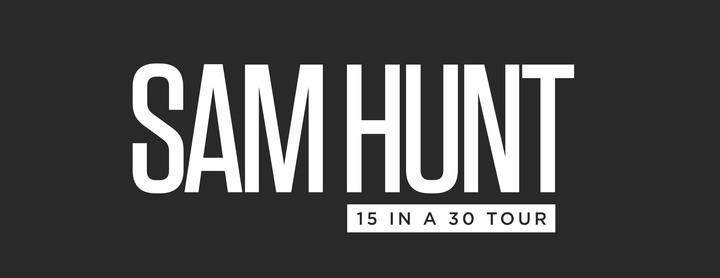 Sam Hunt @ Toyota Amphitheatre - Sacramento, CA