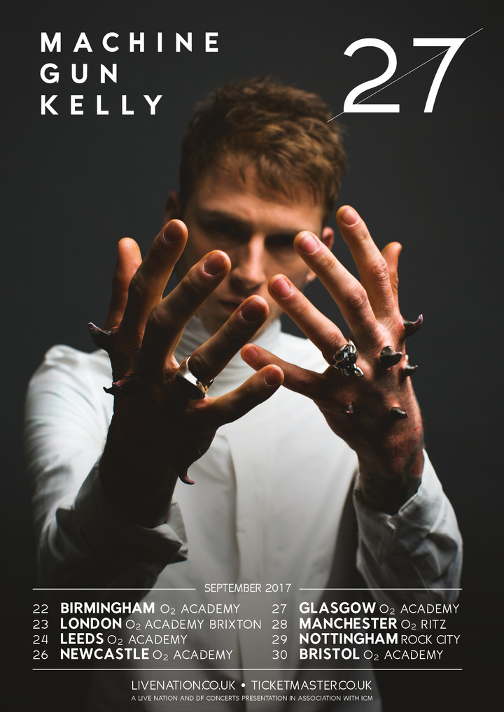 Machine Gun Kelly @ O2 Ritz Manchester - Manchester, United Kingdom