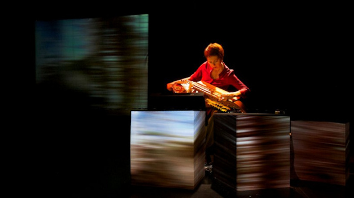 Cie Grain de Son @ Concert Hurdy Gurdy # Myst - Araules (43) - Araules, France