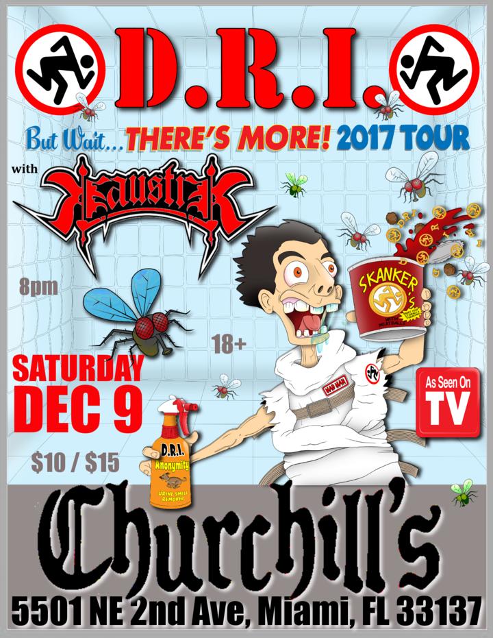 D.R.I. @ Churchill's Pub - Miami, FL