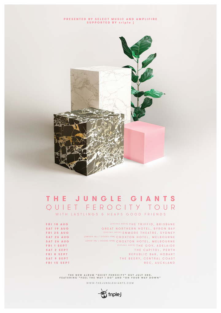 The Jungle Giants @ The Capitol - Perth, Australia