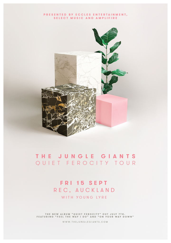 The Jungle Giants @ REC - Auckland, New Zealand
