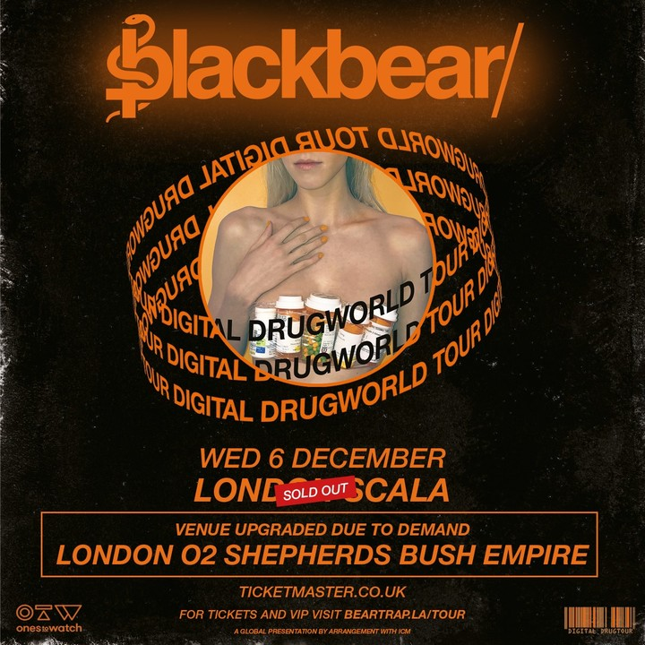 Blackbear @ O2 Shepherd's Bush Empire - London, United Kingdom