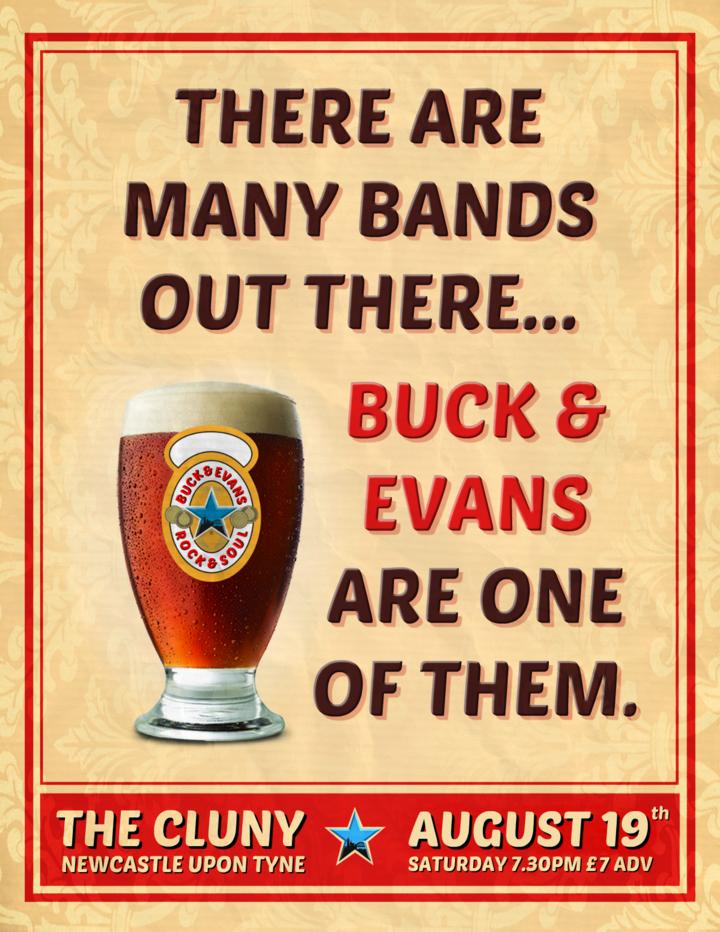 Chris Buck @ The Cluny 2 - Newcastle, United Kingdom