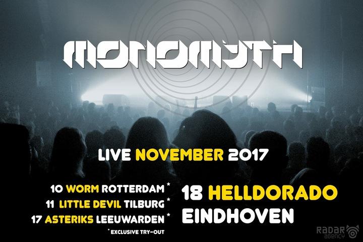 Monomyth @ Asteriks - Leeuwarden, Netherlands