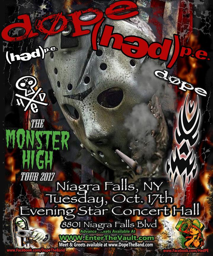DOPE @ Evening Star Music Hall - Niagara Falls, NY