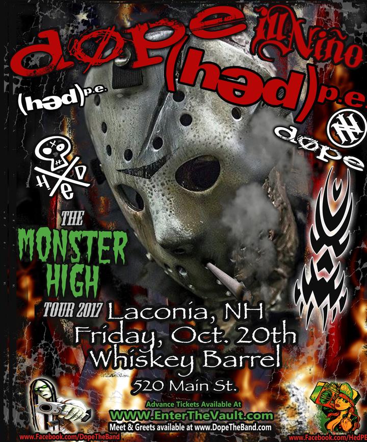 DOPE @ Whiskey Barrel - Laconia, NH