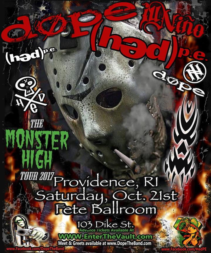 DOPE @ Fete Music Hall - Providence, RI