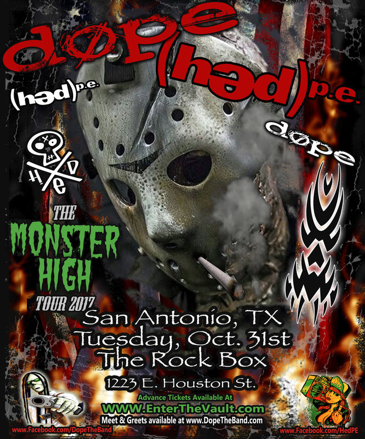 DOPE @ Rock Box - San Antonio, TX