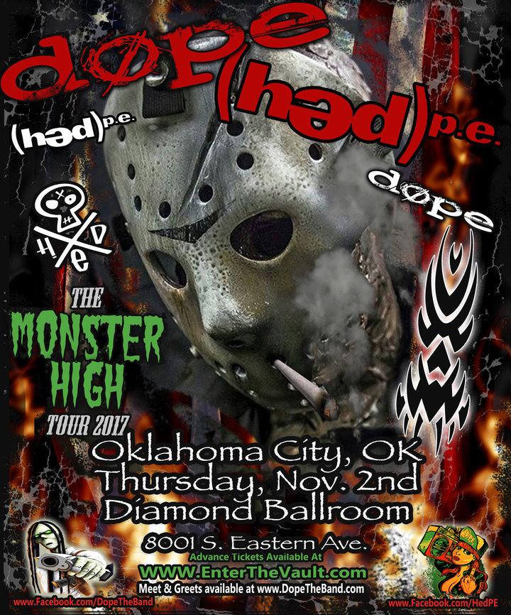 DOPE @ Diamond Ballroom - Oklahoma City, OK