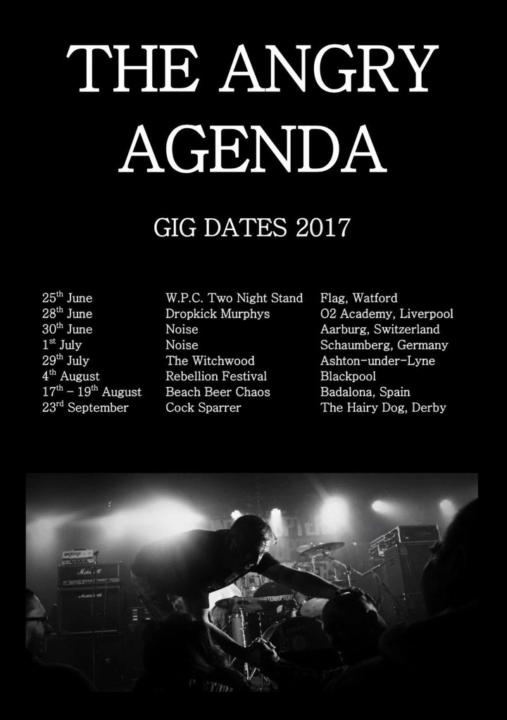 The Angry Agenda Tour Dates