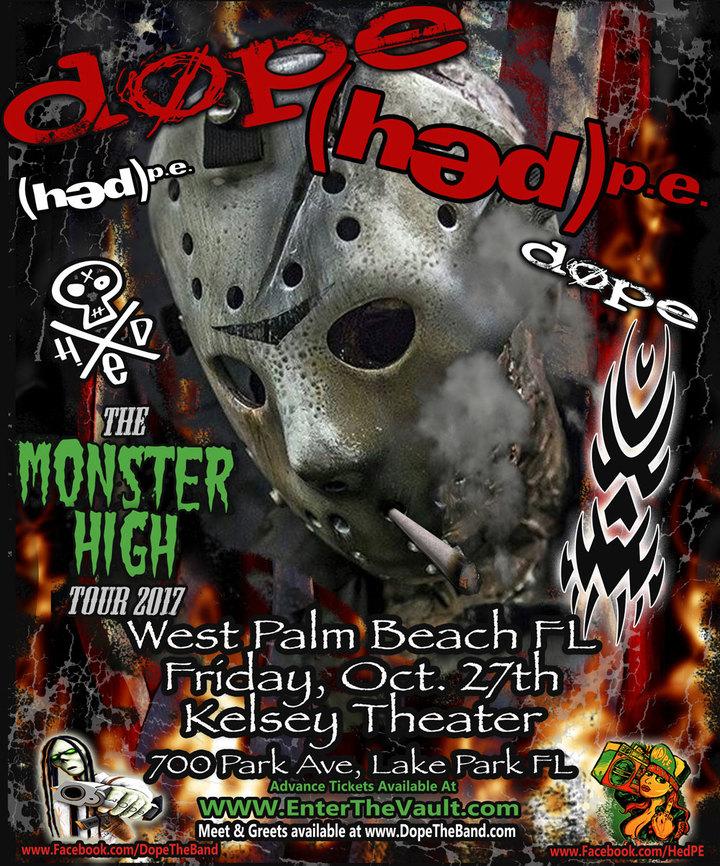 (həd) p.e. @ Kelsey Theater - West Palm Beach, FL