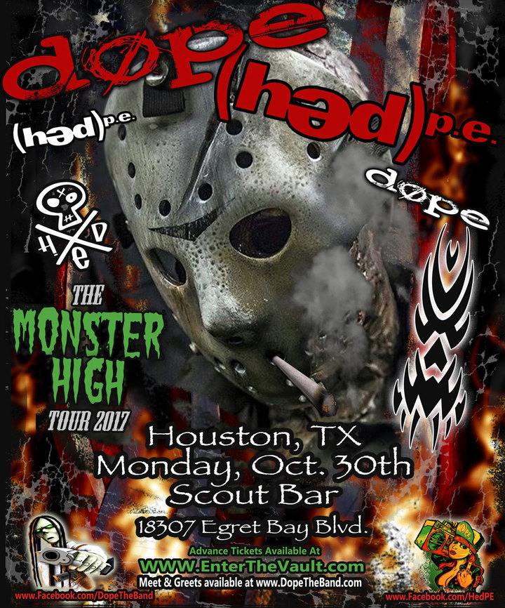 (həd) p.e. @ Scout Bar - Houston, TX