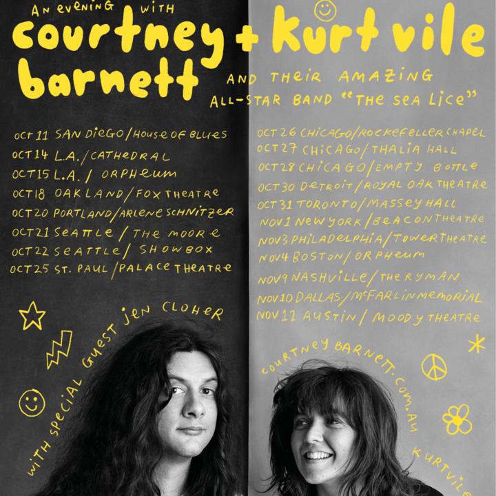 Courtney Barnett @ Orpheum Theatre - Los Angeles, CA