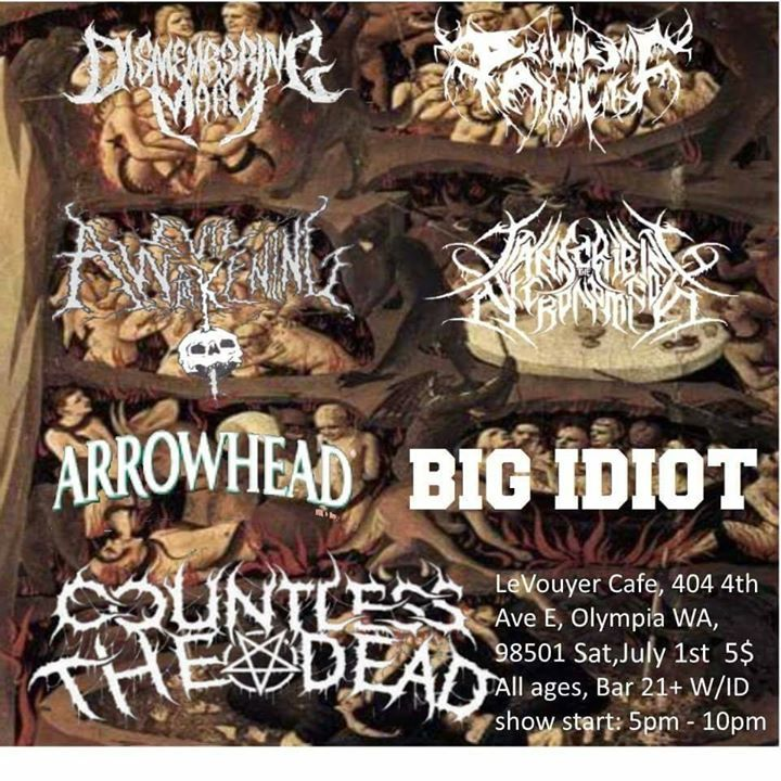 Countless The Dead Tour Dates