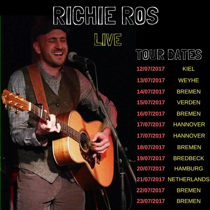 Richie Ros Music Tour Dates