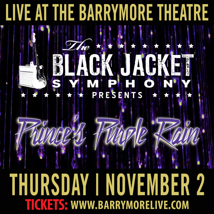 """The Black Jacket Symphony @ Barrymore Theatre - Performing Prince's """"Purple Rain"""" - Madison, WI"""